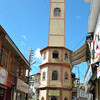 The clock tower in Mussoorie
